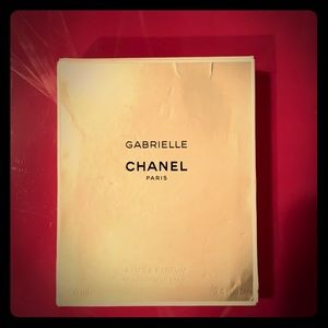 Gabrielle Chanel 3.4 oz 100ml bottle used.